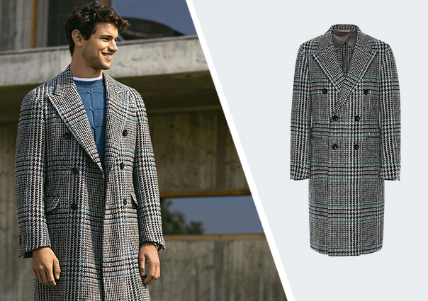 Checked coat Fall Winter 2019