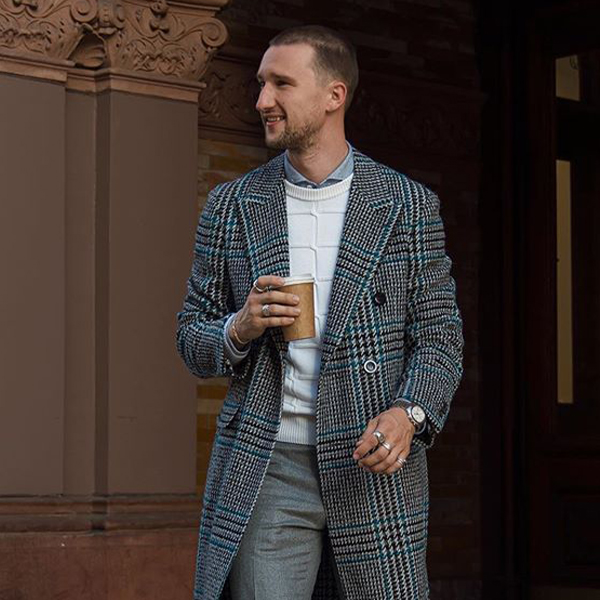 Canali Fall Winter 2019 Coat Marcel Floruss