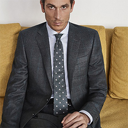 Canali Fall 2019 MTM collection starring Francesco Meda