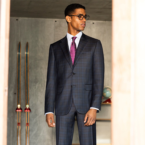 Canali Fall Winter 2019 selection of refined suits