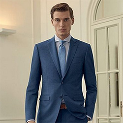 Blue Made to Measure Suit