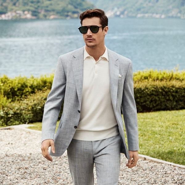 Canali summer suit