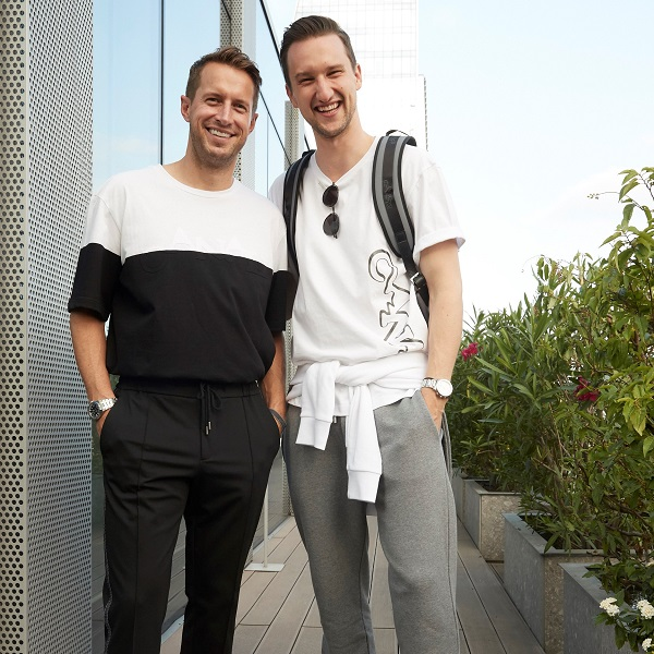 Black Edition MFW event - Marcel Floruss and Brendan Fallis
