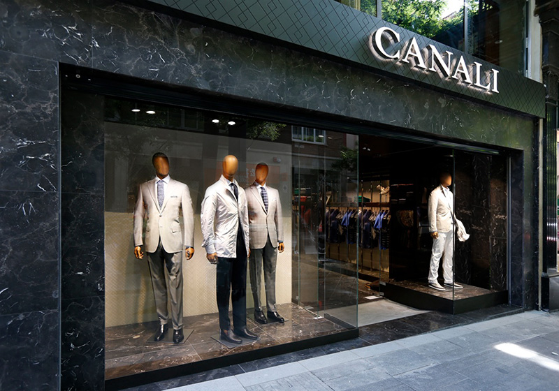 Canali Opens in Madrid