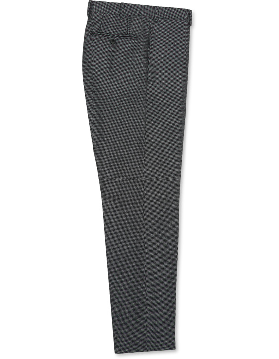 Dark gray pure wool dress pants