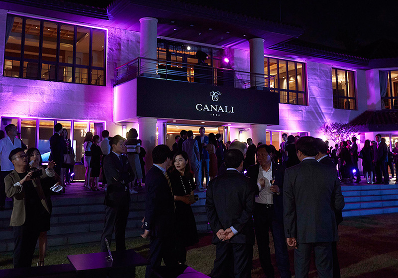 CANALI OPENS IN SOUTH KOREA