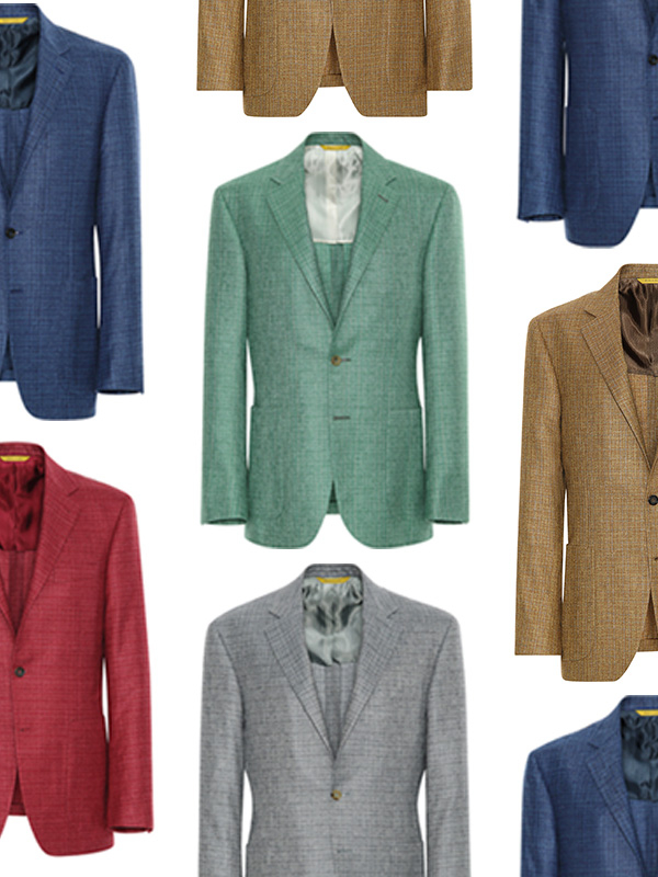 Add color to your collection with our Rainbow blazers