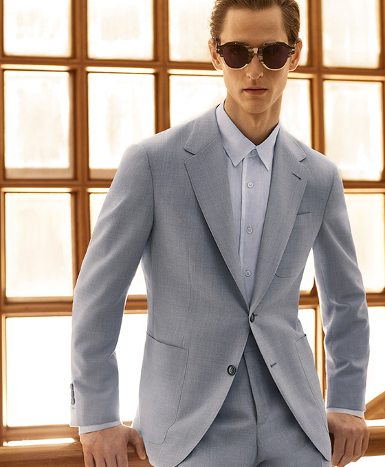 Men S Suits Casual And Formalwear Made In Italy Canali
